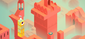 Mobile Puzzle Game-Monument Valley